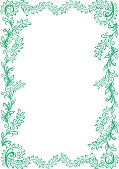 植物圖像框架