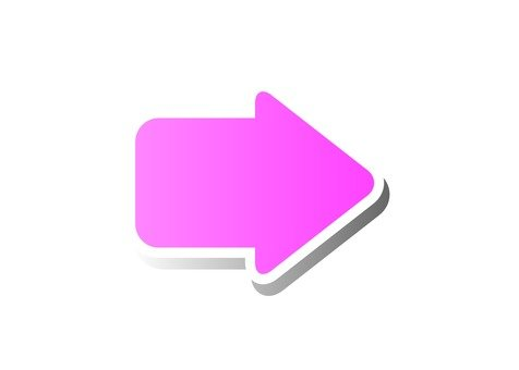 Right arrow (pink)