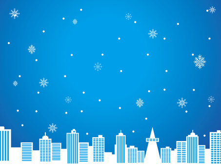 Snowflake background material 5