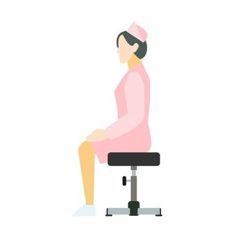 Sitting nurse