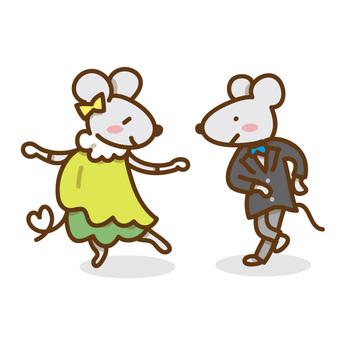 Mice who dance