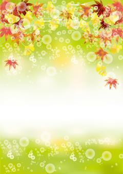 Autumn leaves & gingko 42