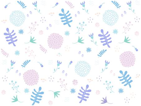 Botanical wallpaper 05