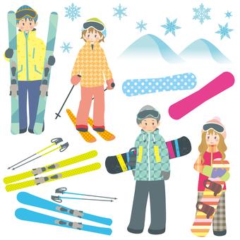 스키 & 스노우 보드