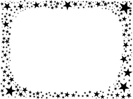 Star frame black