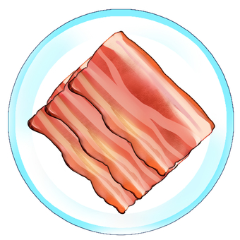 Bacon dish