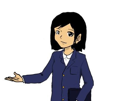프리젠 테이션 여성