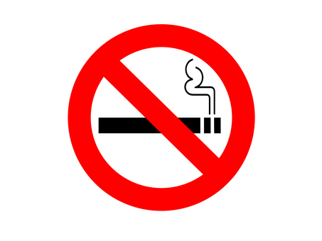 Non-smoking mark