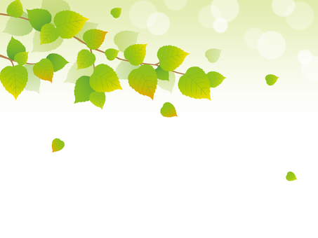 Glitter green background material