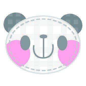 Panda applique
