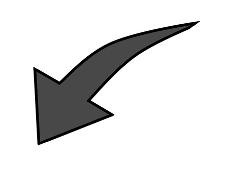 Down arrow black