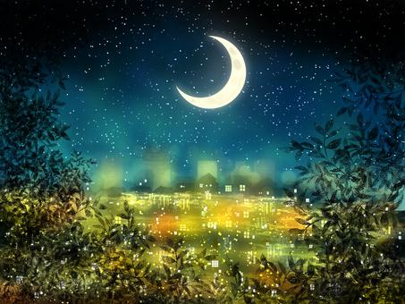 Night light Crescent 2
