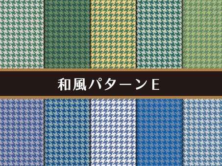 Japanese style pattern E