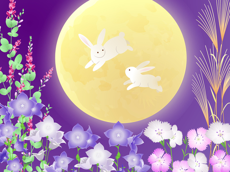 Moon Viewing · Bouncing Rabbit · Kikyo, Hagi · Nades · Sassy