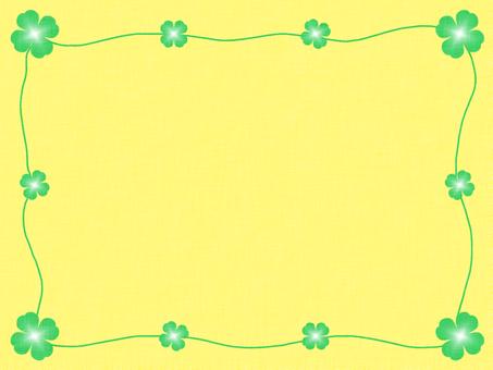四葉背景1紙張紋理