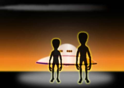 UFO and alien