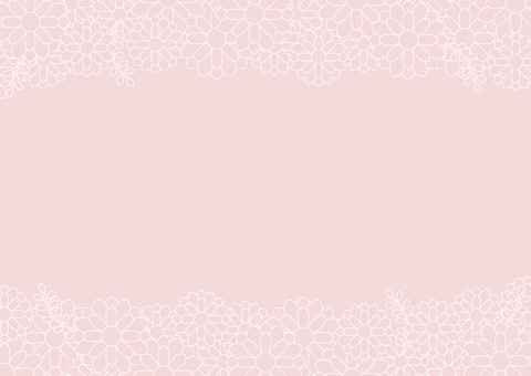 Flower background pink