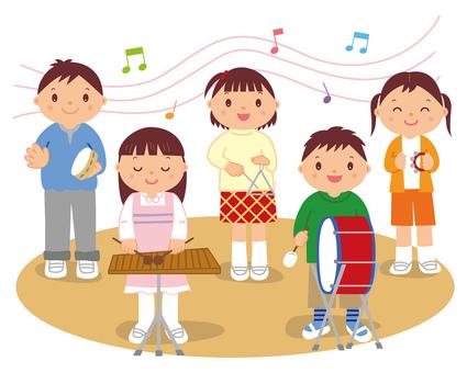 Concert recital children no contour