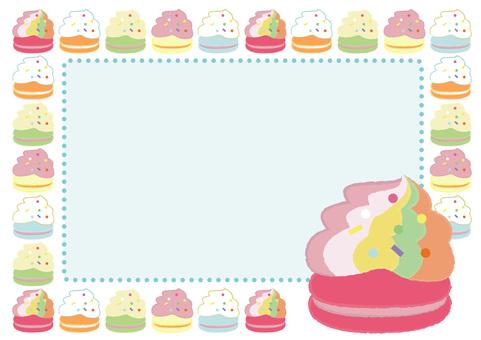 macaron_蛋白杏仁餅乾14_框架