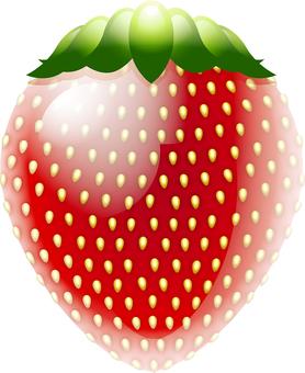 Strawberry like a toy