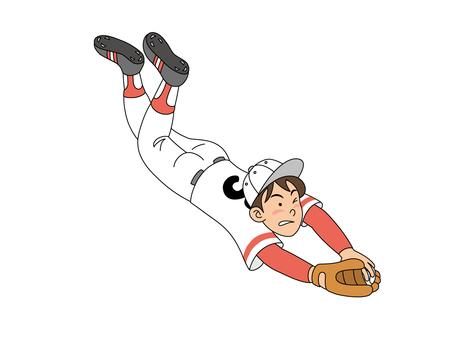 Fielding of the fielder