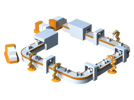 공장 자동화 라인 -1