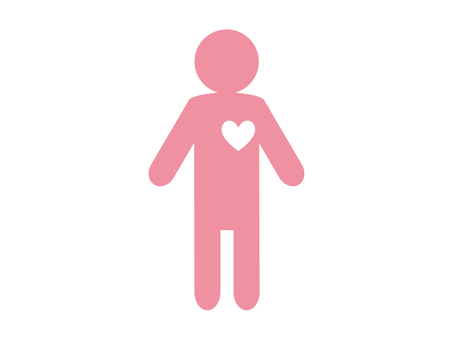 Icon Heart Pink