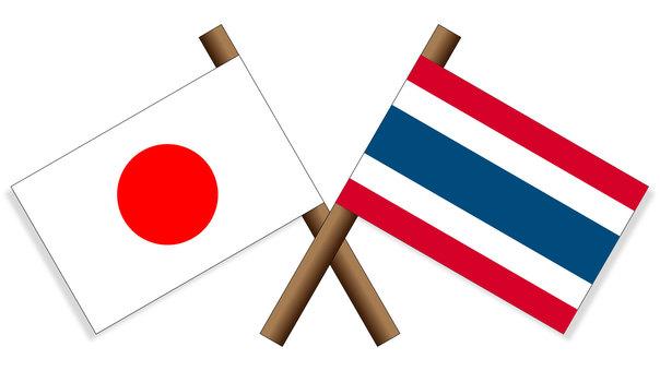 Flag Japan × Thailand