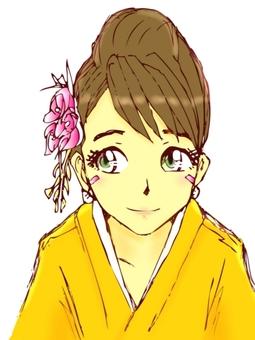 Kimono female 2