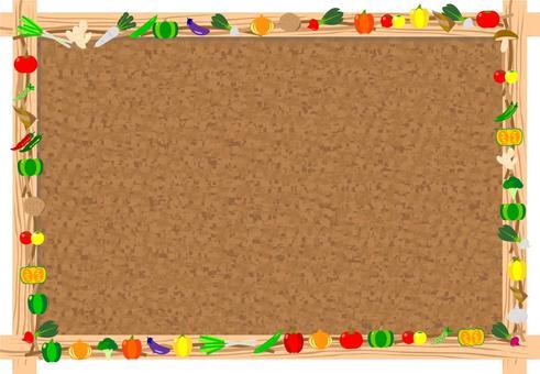 蔬菜軟木板