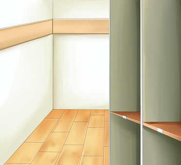 房間(有架子)