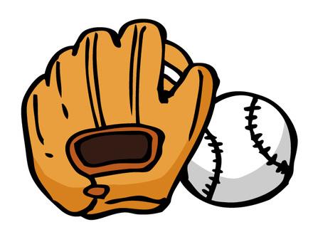 Baseball grab and ball 01