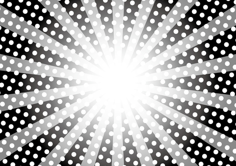 Concentrated line of dots pattern_Background 04