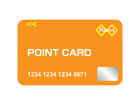 Point card Orange