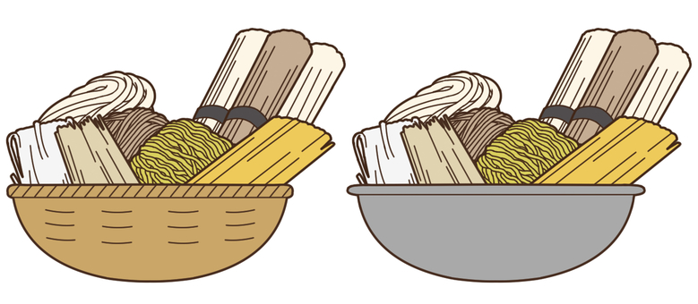 【Stuffing】 Cereals (noodles)