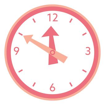 시계 _ 핑크