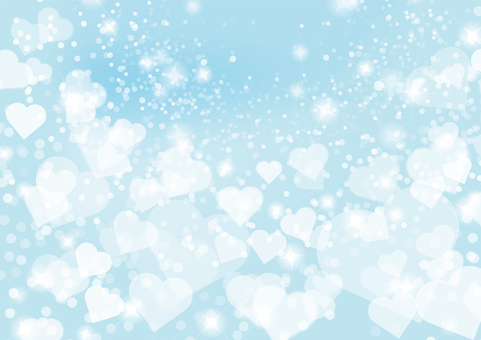 Heart Background - Blue 01