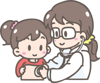 Examination (girls and female doctors)