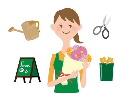 꽃의 여자