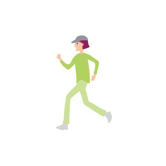Family Female Jogging 1