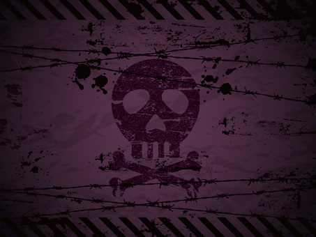 Skull background 01