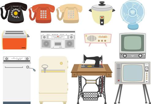 Showa home appliance set 1
