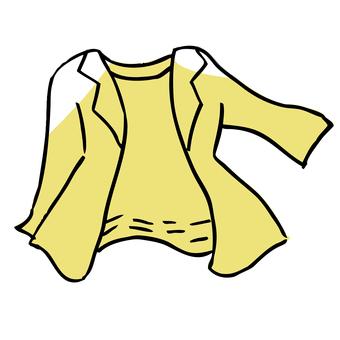 【Jacket】 Hand-drawn illustrations