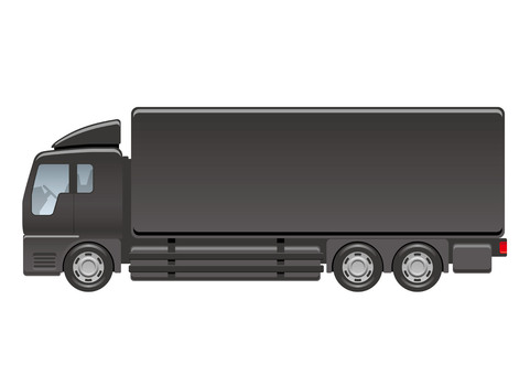 Illustration of a large truck