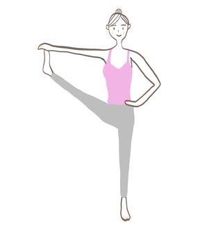 Yoga woman 09
