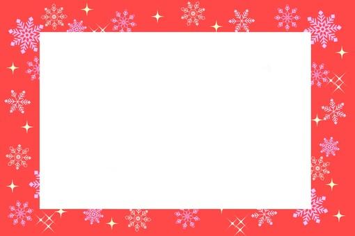 Snow frame red