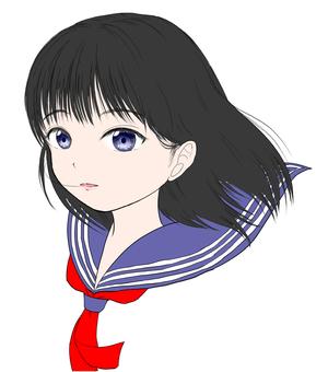 女の子(学生)