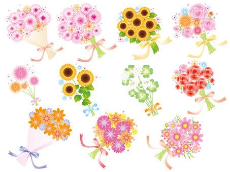 各種鮮花花束2