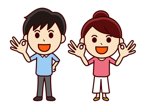 Couple illustration _ OK