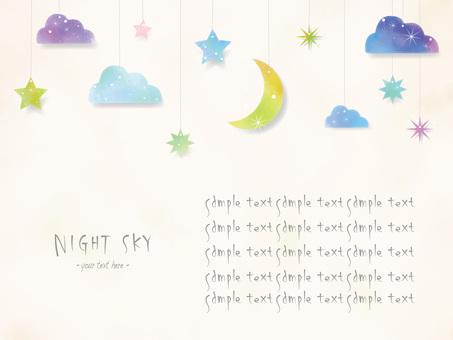 Night sky frame ver04